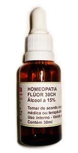 Homeopatia de Flúor - 30 ch com 30 ml