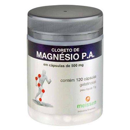 CLORETO DE MAGNÉSIO PA -120 Cáp 500 mg