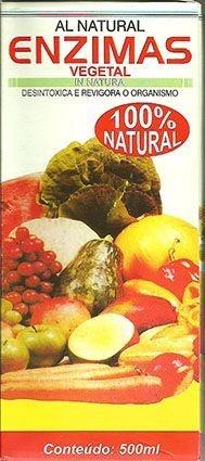Enzimas Vegetais - 500 ml