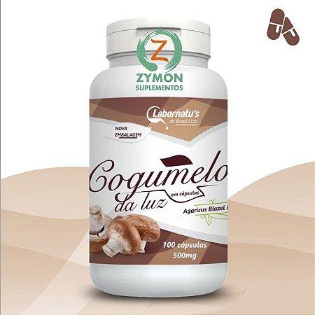 COGUMELO DA LUZ - Agaricus Blazei - 100 Cáp 500 mg