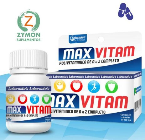 Max Vitam - 30 Cáp 400 mg