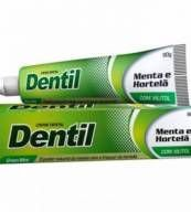 Creme Dental Sem Flúor Sabor Hortelã e Menta  90 g