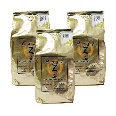 Café Z - Tipo Exportação - 3 unidades de 500g cada