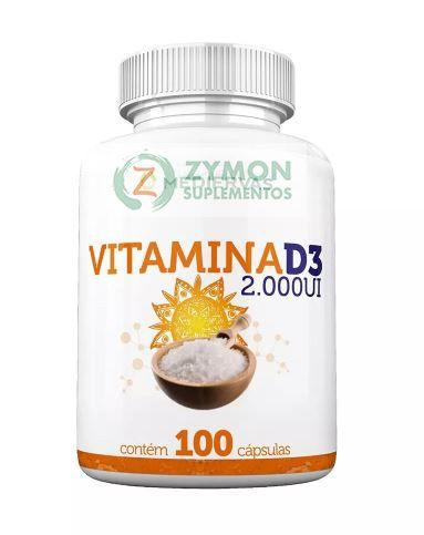 Vitamina D3 2.000 UI - 100 Cáp