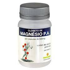 CLORETO DE MAGNÉSIO PA - 60 Cáp 500 mg