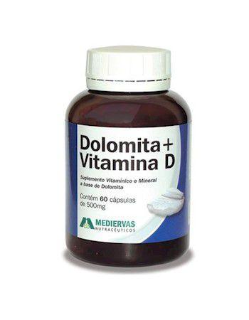 Dolomita + Vitamina D - 60 Cáp 500mg