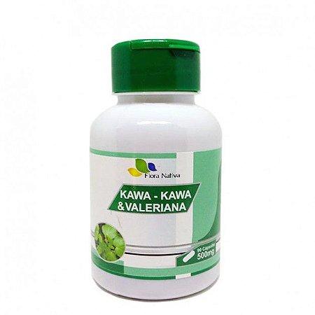Kawa Kawa com Valeriana - 90 Cáp 500 mg