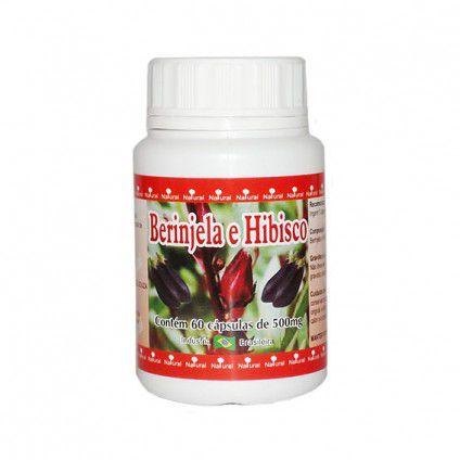 Berinjela e Hibiscus - 60 Cáp 500 mg