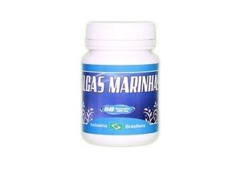 Algas Marinhas - 60 Cáp 500 mg
