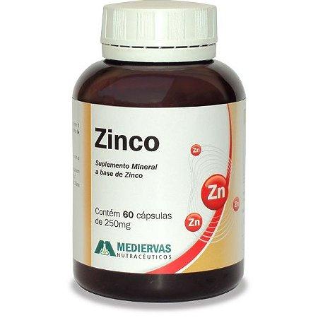 Zinco - 60 Cáp 250 mg