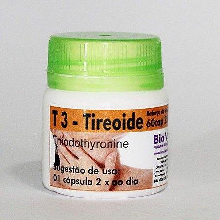 T3 - Tireoide - 60 Cap 25 mcg