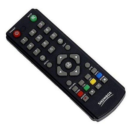 Controle Remoto para Receptor Showbox Sat HD Plus