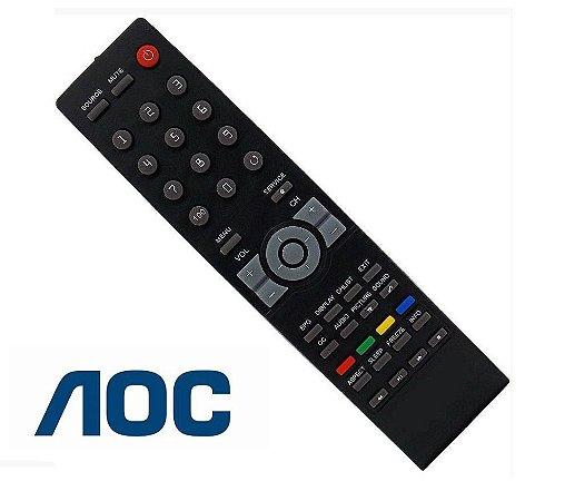 Controle Remoto para Tv Aoc Lcd / Led