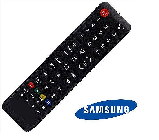 Controle Remoto Tv Samsung  LCD / LED Similar ao  BN98-04345A