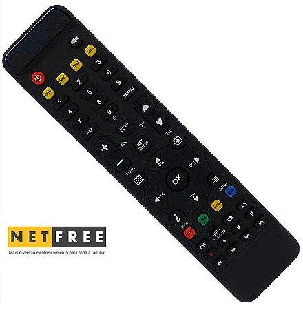 Controle Remoto Receptor Netfree X200 Ultra HD