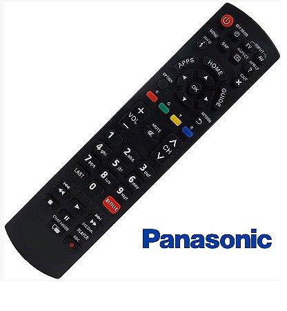 Controle Remoto  Tv Panasonic Lcd Viera C/ Netflix