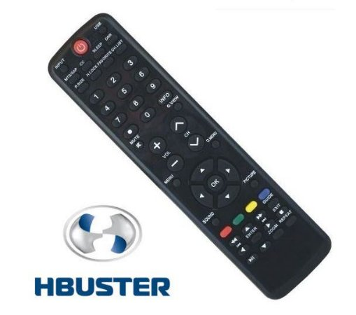 Controle Remoto TV  H-Buster LCD