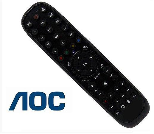 Controle Remoto TV AOC LED Smart Le32w254d / L32W431 / L32W831 / LE32H057D