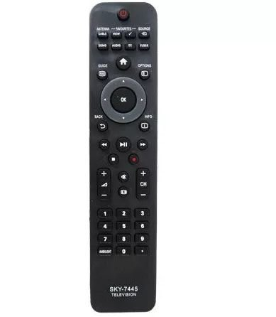 Controle Remoto Tv Lcd Led Smart Philips  MAX-7445