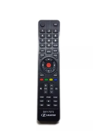 Controle Remoto Tv H-buster / Sky-7072 / Le-7072