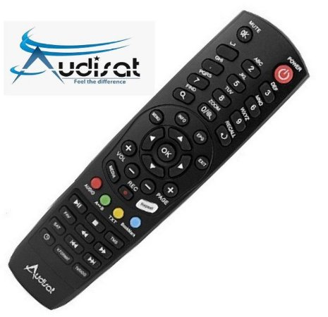 Controle Remoto Audisat K10 Urus