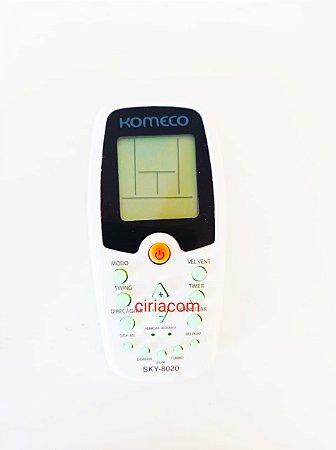 Controle Remoto Para Ar Condicionado Komeco ZH/KZ-01 / ZH/EZ-01 / - ZH/HZ-01