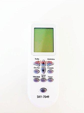 Controle Remoto Ar Condicionado Consul Ambience Cbv12abbna