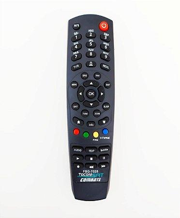 Controle Remoto para Receptor Tocombox  Modelo: ENERGY HD