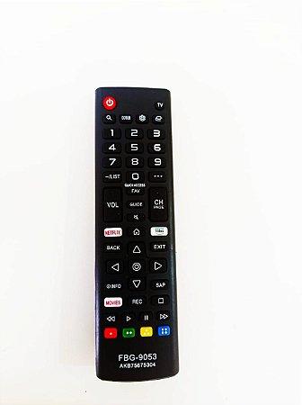 Controle Remoto Lg Tecla Netflix /  Prime Video 32lk615bpsb 43lk5750psa 50uk6520psa 50um7510psb