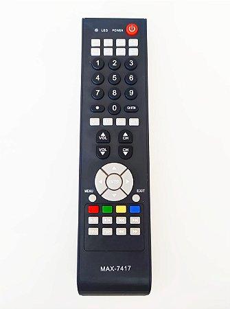 Controle Remoto Tv Semp TCL Lc3246wda Ct-6420 Ct-6360