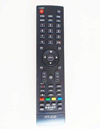 Controle Remoto Tv Lcd Led STI SEMP TCL CT-6390 LE1958W LE2458F