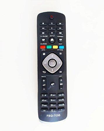 Controle Remoto TV LED Philips 32PFG4109 / 32PHG4009 / 32PHG4900 / 40PFG4109 / 40PFG4309 / 40PHG5000 / 43PFG5000