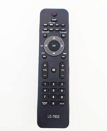 Controle Remoto P/ Tv Philips Lcd / Led 32pfl3404/78 / 32PFL3403 / 32PFL3605D / 42PFL7403 / 42PFL7603