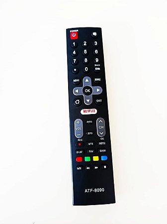 Controle remoto TV Philco 4K LED 55 Netflix PTV55 PTV55U PTV55U21 PTV55U21D PTV55U21DS