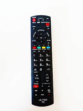 Controle Remoto Tv Lcd / Led Panasonic 3d Internet Netflix