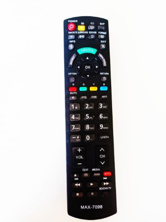 Controle Remoto TV Panasonic Smart 3D EUR7627Z20 Amazon e Netflix