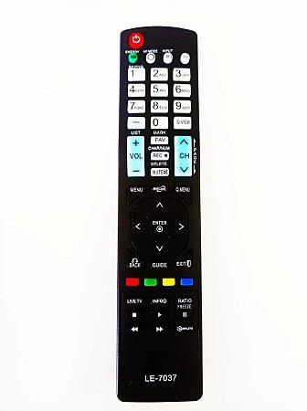 Controle Remoto TV LCD / LED / Plasma LG AKB72914210-221 / 32LE7500 / 42LE7500 / 47LE7500 / 55LE7500 / 32LE5500 / 42LE55
