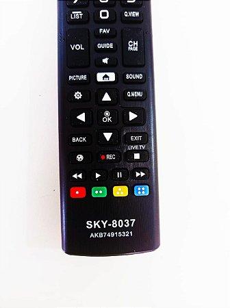 Controle Remoto Tv Lg Smart Led Akb74915320