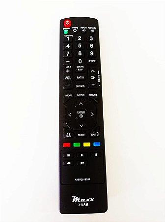 Controle Remoto Tv Lcd Led Plasma LG Akb72915252 / Akb72915214