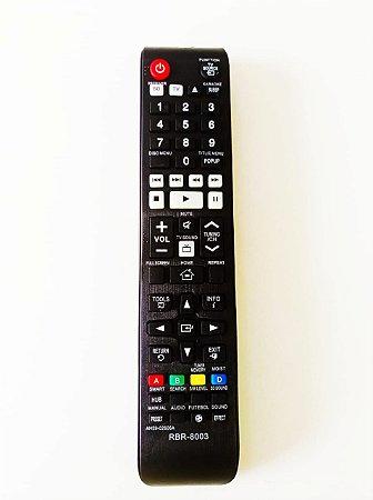 Controle Remoto Samsung Home Theater Blu Ray HT-F5505k / AH-59-02606A / T-F5505K/ZD / HT-F5525WK/ZD / HT-F5555WK/ZD / HT