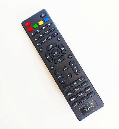 Controle Remoto Receptor Maxfly Iflex IKS/ SKS/ VOD/ IPTV/ WIFI