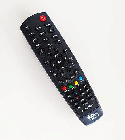 Controle Remoto Receptor Duosat Trend HD / Troy / Nano / Prodigy
