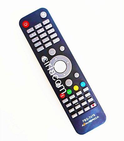 Controle Remoto Receptor Azamerica S1001 / S1005/ s926