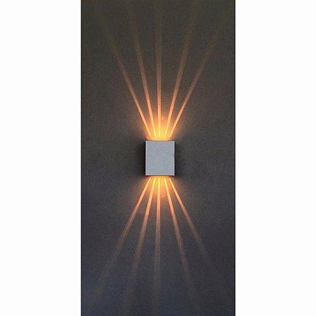 Arandela Interna e Externa Aluminio Piuluce 3058/A