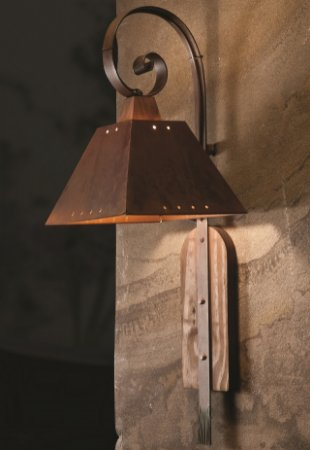 Arandela Napoli 1 lamp (oxidado) Madelustre 2141