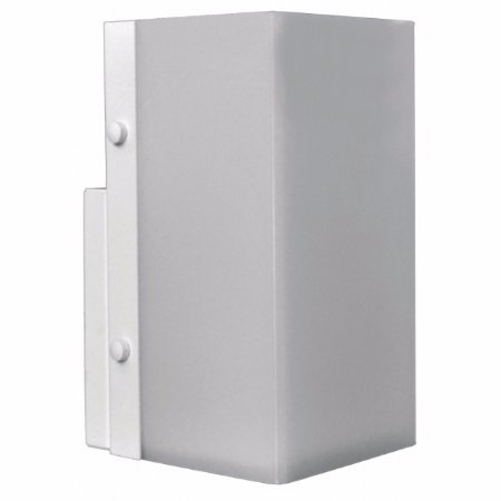 Arandela Retangular Aluminio / Acrilico Fosco Piuluce 3066