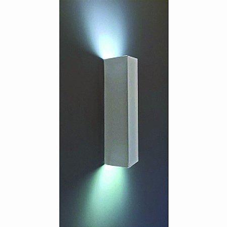 Arandela Retangular Aluminio Piuluce 3068