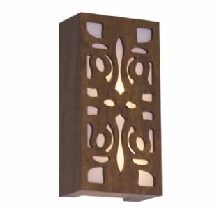 Arandela Retangular Arabesco 15X30X8,5cm Accord 448