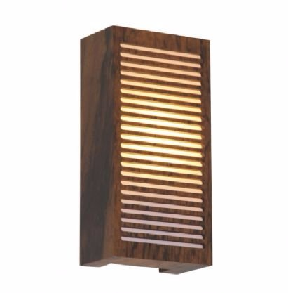 Arandela Retangular Riscos de Luz 30X15X8,5 Accord 580