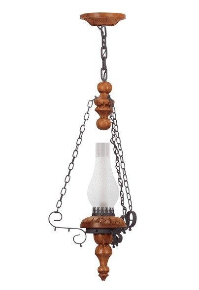 Lustre Medieval 1 lâmpada (1201) Madelustre 60016.13.26.01